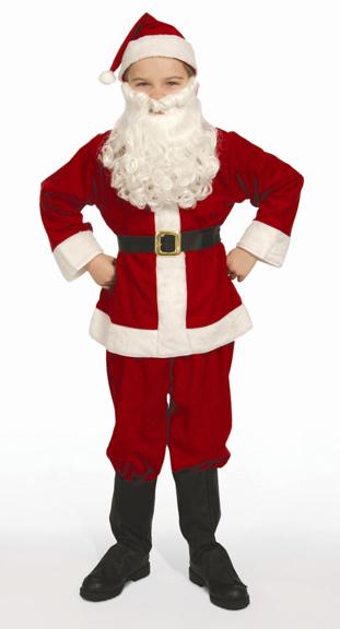 Economy Childs Santa Suit