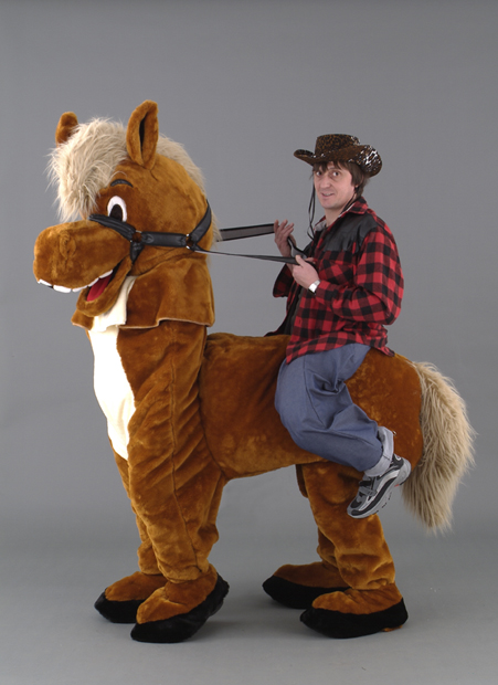 Horse Rider : horse costume two person  - Germanpascual.Com