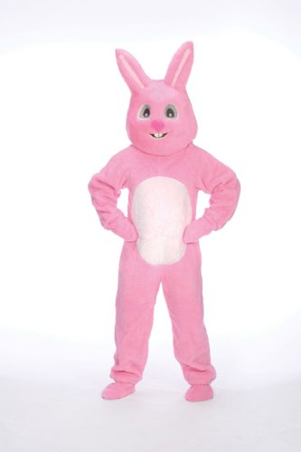 Bunny Suit with Mascot Head