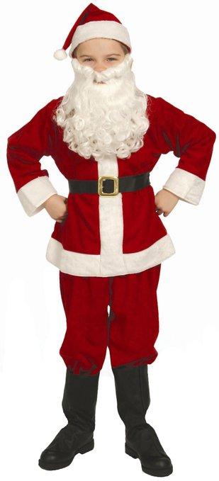 Economy Child's Santa Suit