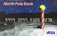 Mrs Claus Credit Card