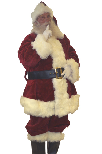 Top Of The Line Santa Suit