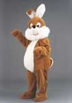 Silly Rabbit mascot costume