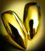 14k Gold Vampire Fangs