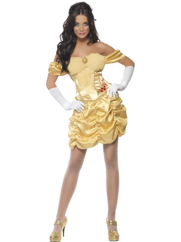 Golden Princess Costume Dress