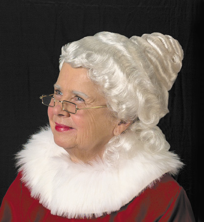 Beautiful Mrs. Claus Wig