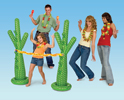 Cactus Limbo Game