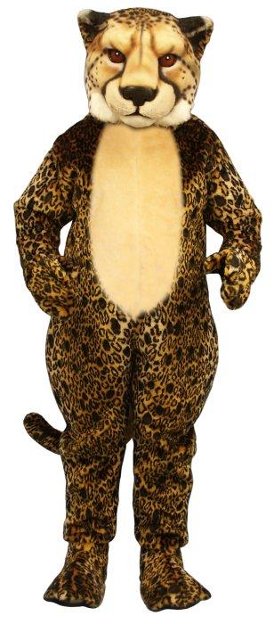 Deluxe Cheetah Mascot Costume
