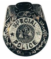 Jumbo Poice Badge
