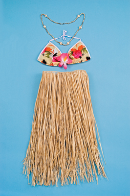 Raffia Set - Natural - Adult