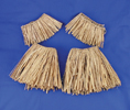 Raffia Arm/Leg Ties Natural
