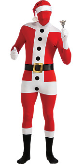 Skin Tight Santa Suit