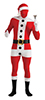 Second Skin - Unique Skin Tight Santa Suit