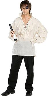 Natural Gauze Pirate Shirt
