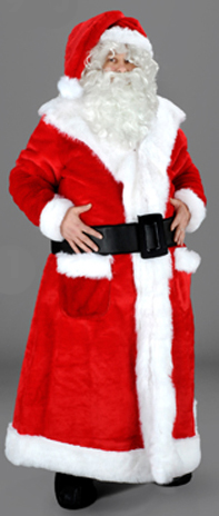 Old Fashioned Father Christmas Santa Suit