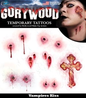 Gorrywood Vampire Kiss Temporary Tattoo Set