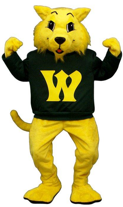 Deluxe Varsity Wildcat Mascot Costume