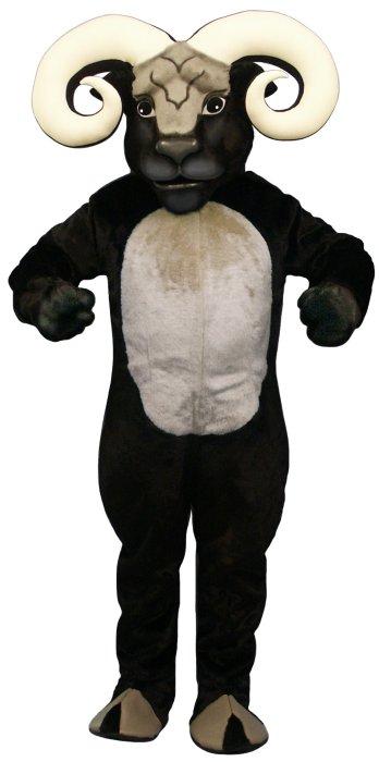 Deluxe Blocking Ram mascot costume