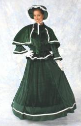 Dickens Christmas Dress costume