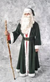 Great Quality Kris Kringle Santa costume