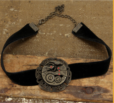 Steampunk Gear Choker