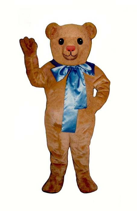 Old Fashioned Teddy Bear With Bow