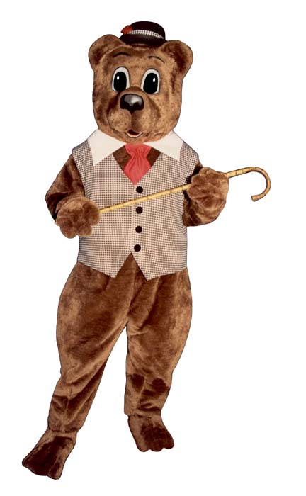 Pa Bear With Hat and Tie
