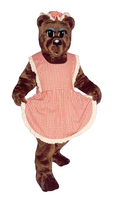 Ma Bear With Apron and Hat