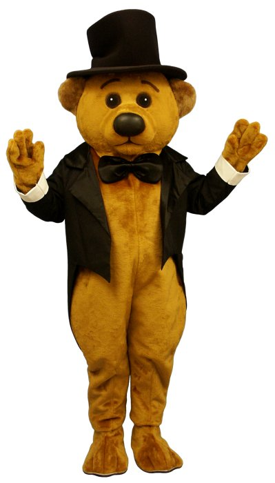 Sophisticated Bear With Tailcoat and Hat