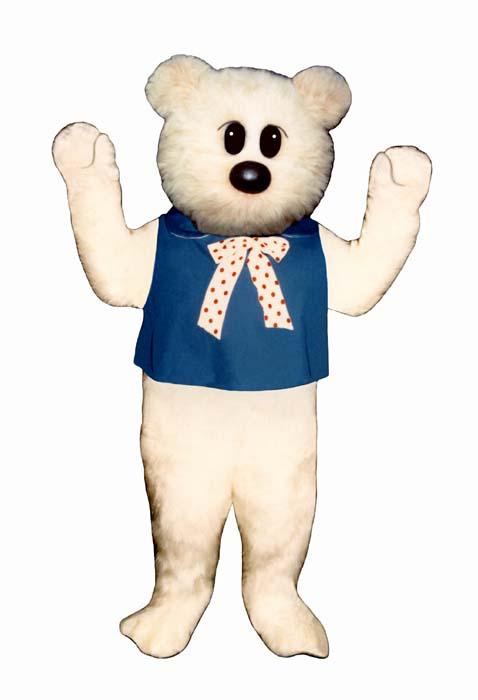 Kingergarten Bear With Bib and Tie