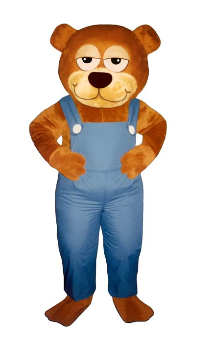 Gardner Bear With Overalls