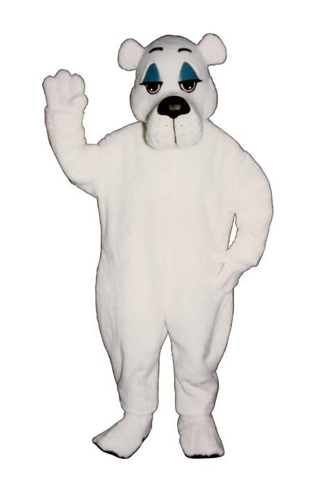 Comic Polar Bear
