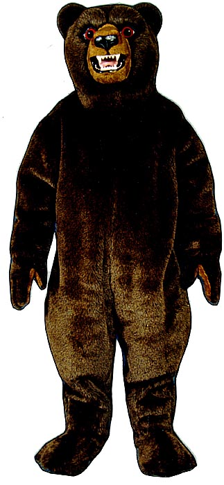 Deluxe Bear Mascot Costume