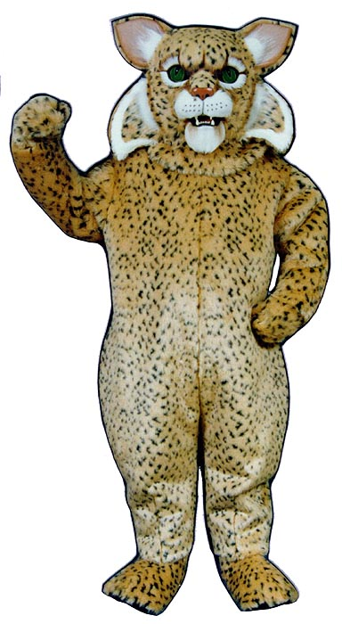 Deluxe Bobcat Mascot Costume