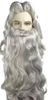 Santa Claus or Wizard Beard and Wig Set - Deluxe