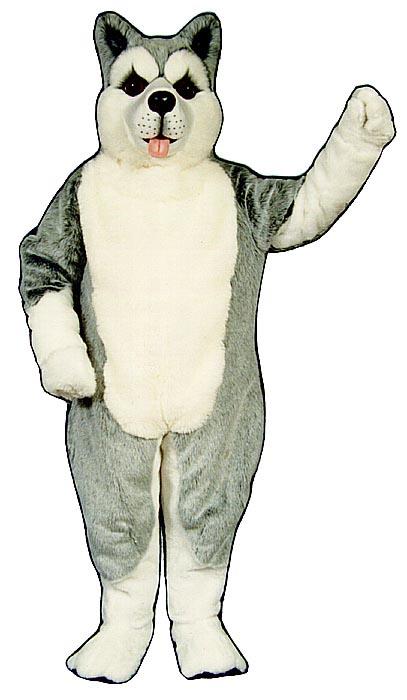 Deluxe Husky Dog mascot costume