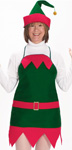 Holiday Elf Apron Set
