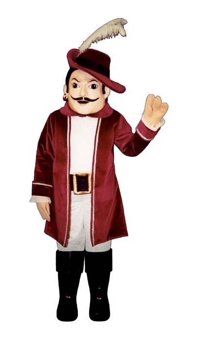 Deluxe Happy Cavalier Mascot Costume