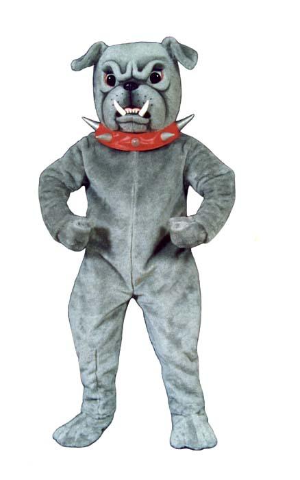 Deluxe Bulldog Mascot Costume
