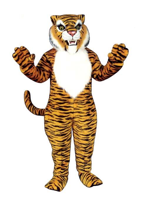 Deluxe Tiger Mascot Costume