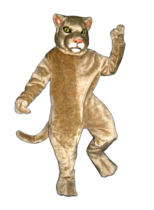 Deluxe Cougar Mascot Costume