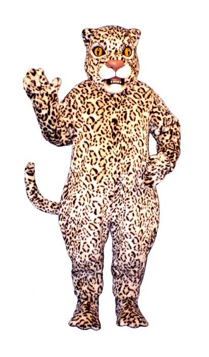 Deluxe Leopard Mascot Costume