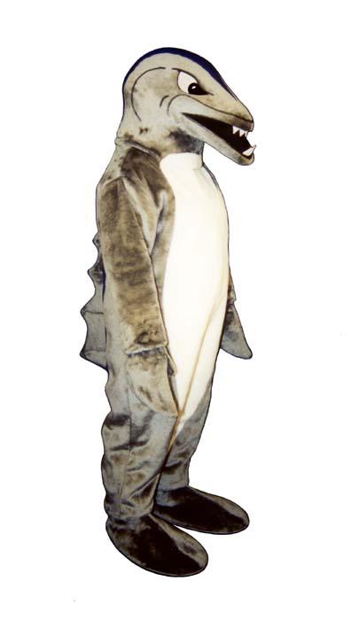 Deluxe Killer Shark Mascot Costume