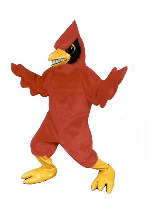 Deluxe Cardinal Mascot Costume