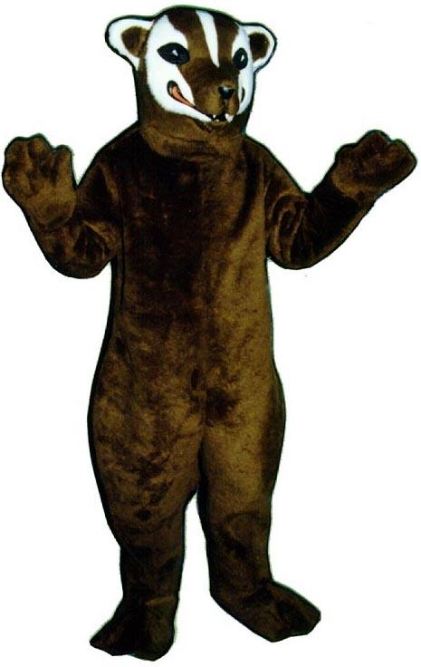 Deluxe Badger Mascot Costume