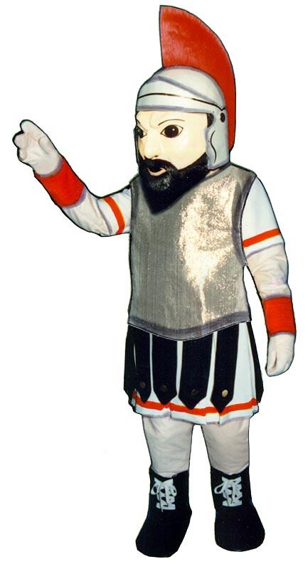 Deluxe Gladiator Mascot Costume