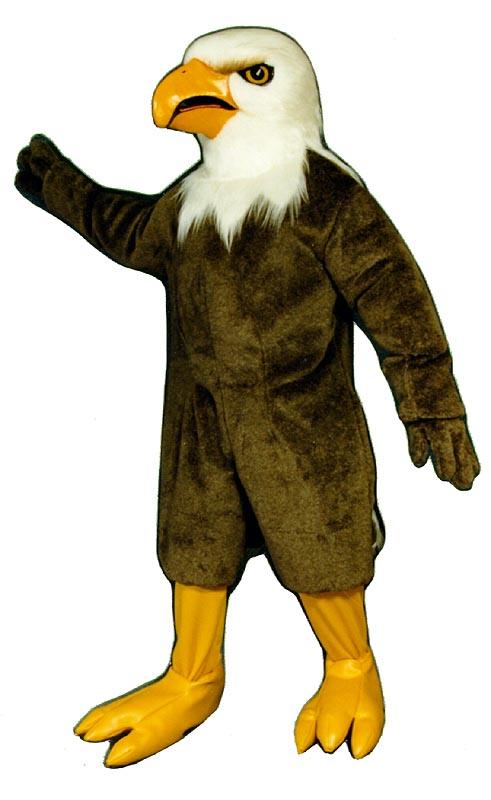 Deluxe Eagle Mascot Costume