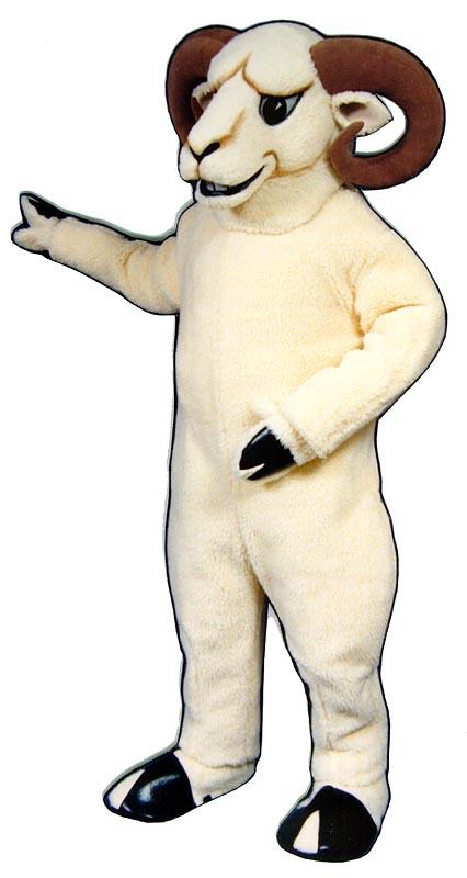 Deluxe Ram Mascot Costume