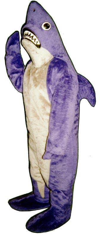 Deluxe Shark Mascot Costume