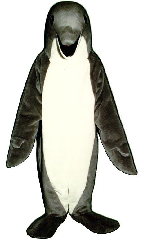 Deluxe Dolphin Mascot Costume